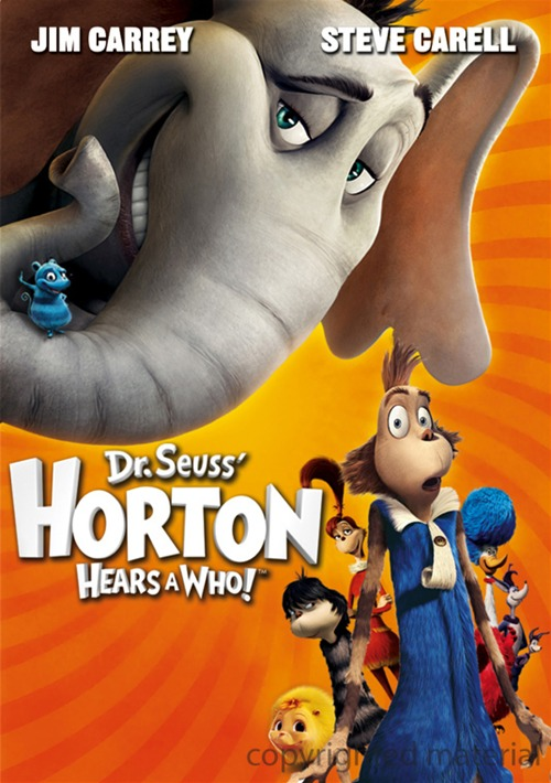 horton hears a who steve carell discount comedy dvds
