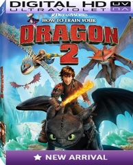 How To Train Your Dragon 2 HD Digital Ultraviolet UV Code VUDU OR iTUNES