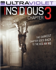 Insidious: Chapter 3 SD Digital Ultraviolet UV Code
