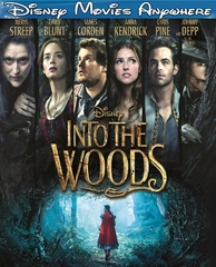 Into The Woods DMA Disney Movies Anywhere Code