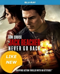 Jack Reacher Never Go Back Blu-ray (USED)