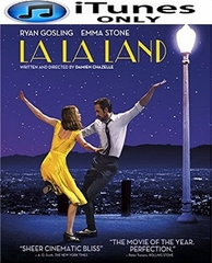 La La Land HD iTunes Code (PRE-ORDER WILL EMAIL ON OR BEFORE 4-25-17 AT NIGHT)