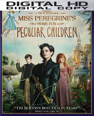 Miss Peregrine's Home for Peculiar Children HD Ultraviolet UV or iTUNES Code