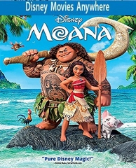 Moana HD DMA Code, Vudu or iTUNES (PRE-ORDER WILL EMAIL ON OR BEFORE 3-6-17 AT NIGHT)