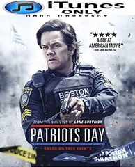 Patriots' Day HD iTunes Code  (PRE-ORDER WILL EMAIL ON OR BEFORE 3-28-17 AT NIGHT)