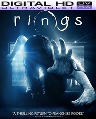Rings HD Digital Ultraviolet UV Code (PRE-ORDER WILL EMAIL ON OR BEFORE 5-2-17 AT NIGHT)