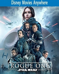 Rogue One: A Star Wars Story DMA Code, Vudu or iTUNES (PRE-ORDER WILL EMAIL ON OR BEFORE 4-4-17 AT NIGHT)