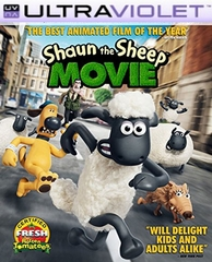 Shaun the Sheep Movie SD Digital Ultraviolet UV Code