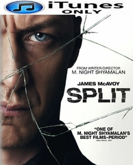 Split HD iTunes Code (PRE-ORDER WILL EMAIL ON OR BEFORE 4-18-17 AT NIGHT)