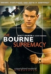 The Bourne Supremacy DVD Movie (USED)