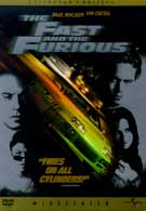 The Fast And The Furious Collectors Edition DVD Movie (USED)