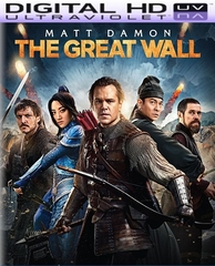 The Great Wall HD Digital Ultraviolet UV Code (PRE-ORDER WILL EMAIL ON OR BEFORE 5-23-17 AT NIGHT)
