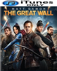 The Great Wall HD iTunes Code (PRE-ORDER WILL EMAIL ON OR BEFORE 5-23-17 AT NIGHT)