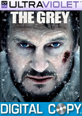 The Grey SD Ultraviolet UV Code + Digital Copy