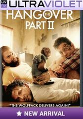 The Hangover Part 2 SD Digital Ultraviolet UV Code