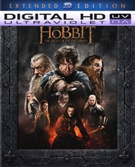 The Hobbit: The Battle of Five Armies Extended Edition HD Digital Ultraviolet UV Code