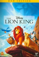The Lion King Diamond Edition DVD (USED)
