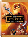 The Lion King Platinum Edition DVD (USED)