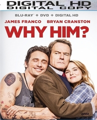 Why Him HD Ultraviolet UV or iTUNES Code (PRE-ORDER WILL EMAIL ON OR BEFORE 3-28-17 AT NIGHT)