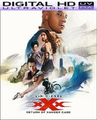 xXx: Return of Xander Cage HD Digital Ultraviolet UV Code (PRE-ORDER WILL EMAIL ON OR BEFORE 5-16-17 AT NIGHT)