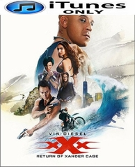 xXx: Return of Xander Cage HD iTunes Code  (PRE-ORDER WILL EMAIL ON OR BEFORE 5-16-17 AT NIGHT)