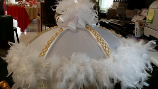 Brides Gold Trim Secondliner