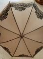 Ladies Lace Stamped Umbrella