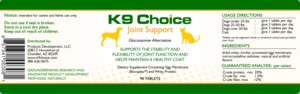 K9 Choice Egg Shell Membrane Joint Support