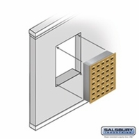 Cell Phone Lockers - Recessed Mounted
