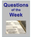 Questions of the Week for Year A