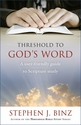 Threshold to God's Word