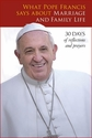 What Pope Francis says about Marriage & Family Life
