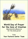 World Day of Prayer for Creation Care -- <I>reproducible leaflet for the whole parish</i>