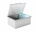 RCS 304 Stainless Steel Drop-in Cooler with Condiment trays