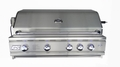 RCS 38-inch Cutlass Pro Series Built-in Gas Grill with Rear Burner and Blue LED Lights