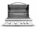 "RCS Premier Series 32"" (Inch) Stainless Grill With Rear Burner - RJC32a"