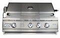 RCS 30-inch Cutlass Pro Series Built-in Gas Grill with Rear Burner and Blue LED Lights