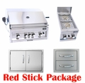 Red Stick Ultimate Appliance Package by FLO Grills�