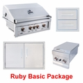 Ruby Basic Grill and Appliance Package