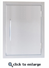 Signature Series 17-inch x 24-inch Beveled Frame Vertical Door