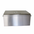 Sunstone Drop-in 28-Inch Wide x 10-Inch High Insulated Ice Chest with Hinged Cover