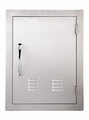 VENTED Vertical 304 Stainless Steel Access Door 17 X 24 by FLO Grills™