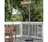 1500 Watt Stainless Steel Offset Infrared Patio Heater