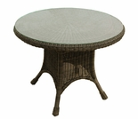 "30"" Wicker Catalina Dining Table"