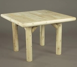 "35"" Square Indoor Dining Table"