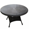"48"" Wicker Catilina Dining Table"