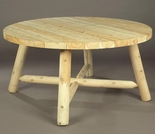 "48"" Round Cedar Picninc Table"