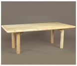 "70"" Log Style Indoor Table - Additional Cyber Week Discount!"