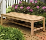 Oxford Garden Backless 2', 4' or 5' Shorea Bench