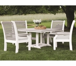 Berlin Gardens Classic Terrace 4 Seat Dining Set